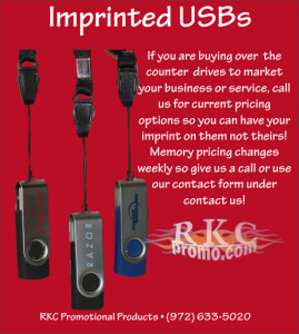 Imprinted USB Drives