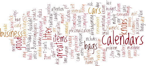 RKC Promotional Product Words