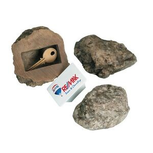Fake rock for hiding keys