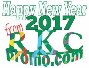 Happy New Year 2017 from RKC Promotional Products