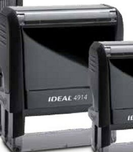 Ideal Large Self Inking Stamp