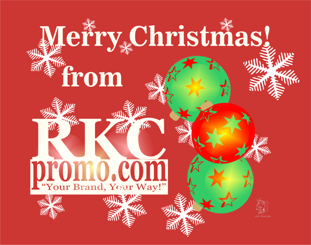 Merry Christmas from RKC Promotional Produts
